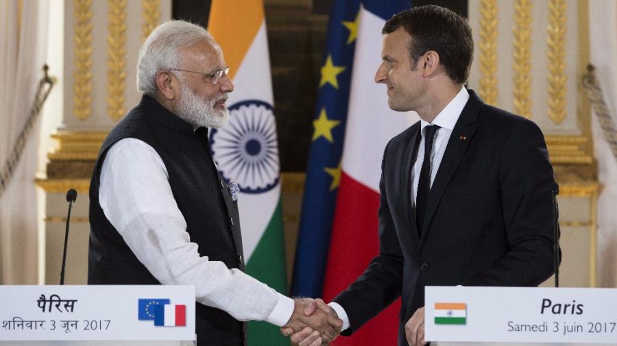 Macron Breaks Silence on Rafale Deal, Distances Self From Row
