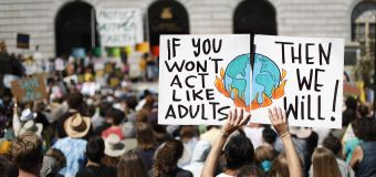 Kids worldwide demand action on climate change