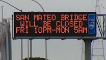 San Mateo Bridge to close for repairs this weekend