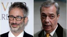 BBC Proms: David Baddiel criticises Nigel Farage over 'Rule Britannia' video