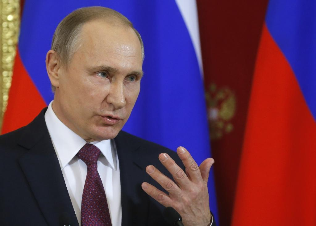 Russian President Vladimir Putin is among various world leaders US President Donald Trump will speak to on January 28, 2017 (AFP Photo/Sergei Ilnitsky)