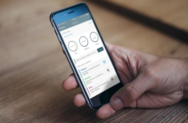 Burner's disposable phone numbers save everything in the cloud