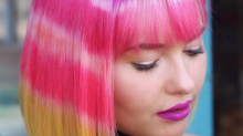 Tie-dye hair is the weird new beauty trend to get your head around