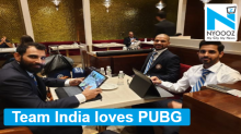 Team India loves PUBG as Dhoni and Co seen playing popular game