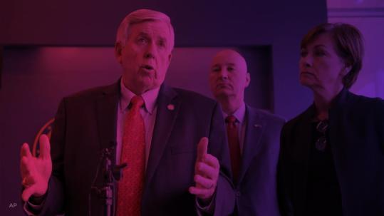 Gop Christmas Message.Missouri Gop Gov Parson Announces 2020 Bid To Keep His Job
