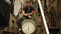 Cover Shoots - Channing Tatum Poses in the Rain for Annie Leibovitz