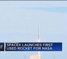 SpaceX launches first used rocket for NASA mission