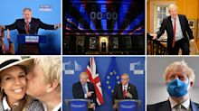 12 pictures that sum up Boris Johnson's tumultuous first year as prime minister