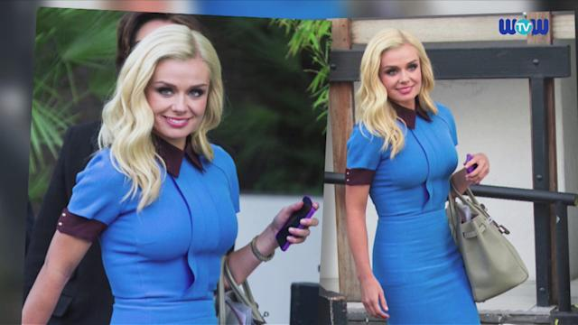 WOWtv - Katherine Jenkins Wears Victoria Beckham Despite Allegedly Being Removed From the Approved Celebrities List
