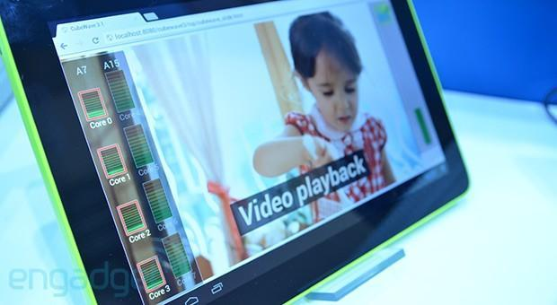 Samsung puts latest Exynos 5 Octa chip into a prototype tablet, we go hands-on (video)