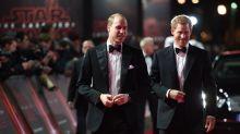 """""""Star Wars"""": Prinz William & Harry auf der Europa-Premiere"""