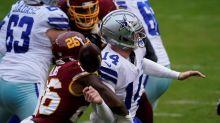 Dalton hurt, Washington defence clamps down to beat Cowboys
