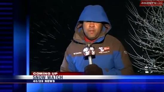 Live: Thursday morning snow and wind damage