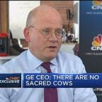GE CEO John Flannery on turnaround plans: My track record...
