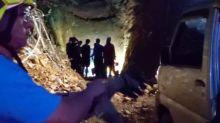 南投埔里工人受困涵洞 警消營救