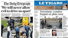 London struck to the heart: How newspapers around the world covered the devastating terror attack on London
