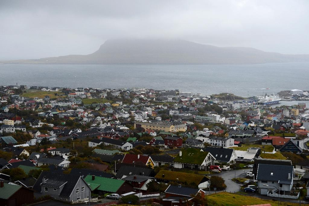 A general view of Torshavn on October 12, 2012, at Streymoy Island, the largest of the Faroe Islands in this Atlantic ocean archipelago nation