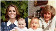 El guiño de Kate Middleton a Lady Di vistiendo al príncipe Louis como su padre