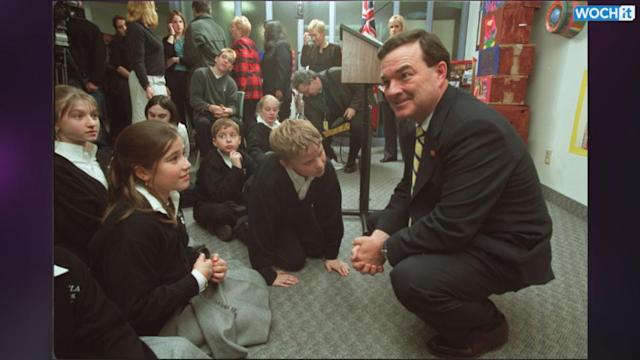 Former Finance Minister Flaherty Has Died