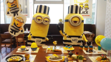 First Minions Cafe outside Japan opens in Singapore from 23 November to 31 January