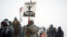 Sioux chief asks protesters to disband, Trump to review pipeline decision