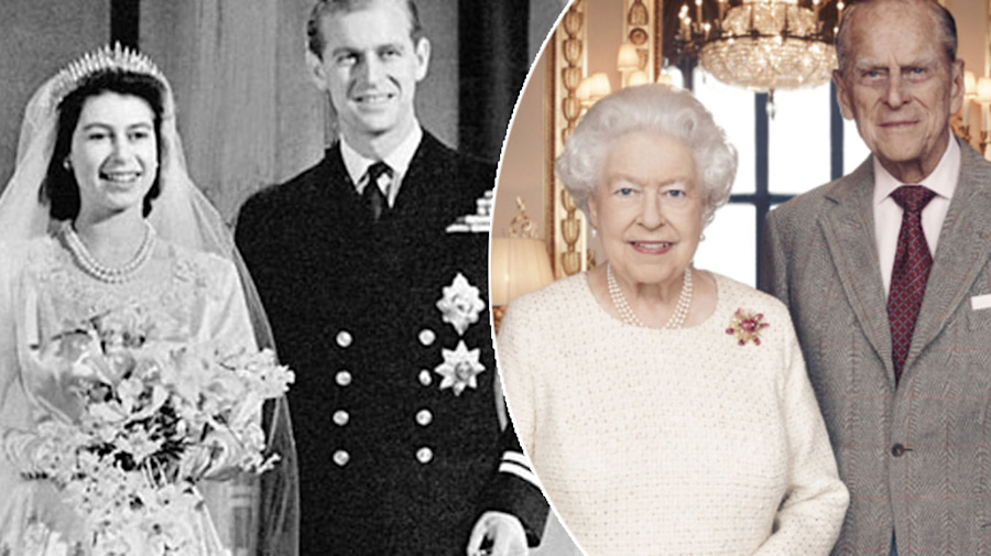 Queen Elizabeth II and Prince Philip celebrate 71st anniversary