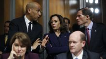 The Latest: Booker warns of Trump 'dirty tricks' in voting