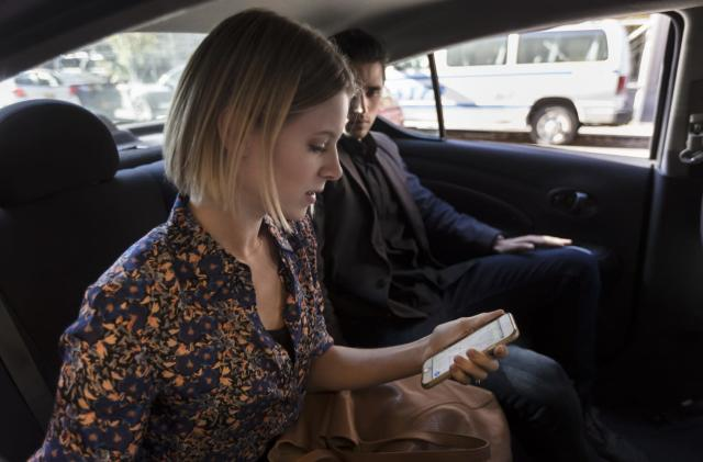 Uber helps you report problematic drivers during your ride
