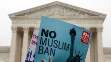 U.S. Supreme Court leans toward upholding Trump's travel ban