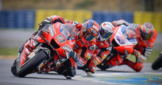 Moto   MotoGP   Le MotoGP dévoile un premier calendrier pour 2021