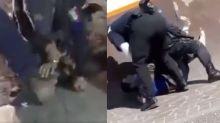 VIDEO   Brutalidad policiaca en Guanajuato contra quienes rompen el confinamiento o no usan cubrebocas