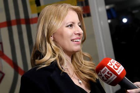 Slovakia set to elect anti-graft lawyer as first female president