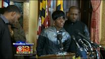 Freddie Gray's Sister, Other Local Leaders Address Violent Protestors