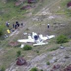 The Latest: Plane was 'spiraling' before crash in Texas