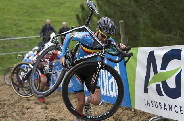 Cycling officials find motor hidden inside competition bike