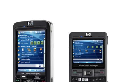 HP introduces iPAQ 600 and 900 series Windows Mobile 6 phones