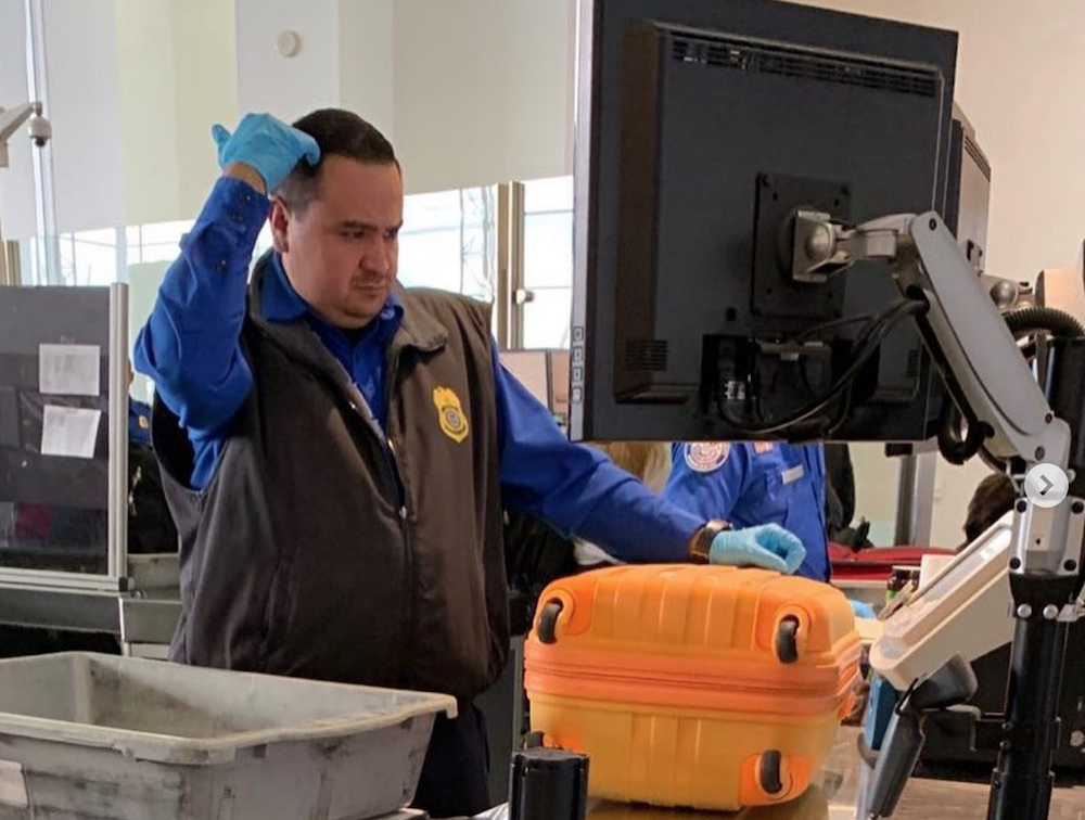 Unpaid TSA agents, no longer giving a f***, play uncensored rap music in airports