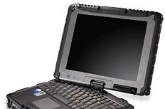 GETAC's ultra-rugged V100 convertible tablet PC
