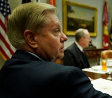 Sen. Lindsey Graham and a Fox News contributor threw a Hail Mary to keep US troops in Syria