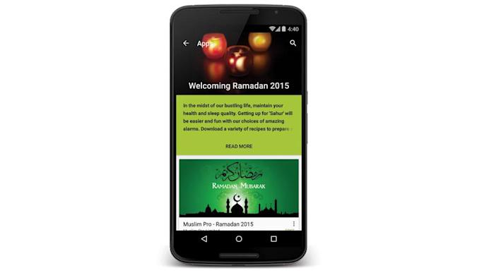 Google's 'My Ramadan Companion' offers tips during the holy month