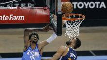 Clarkson scores 22 points, NBA-leading Jazz beat Rockets