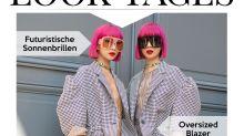 Look des Tages: Musik-Duo Amiaya avantgardistisch im Twinning-Look