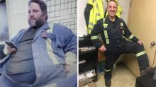 After a dramatic wildfire rescue, this man was inspired to lose 326 pounds