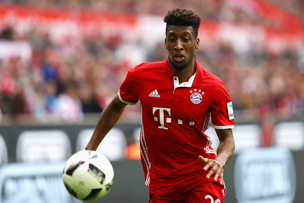 Bayern Munich sign Coman from Juventus for €28m