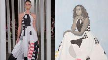 Die unterschwellige politische Botschaft des Kleides in Michelle Obamas Porträt