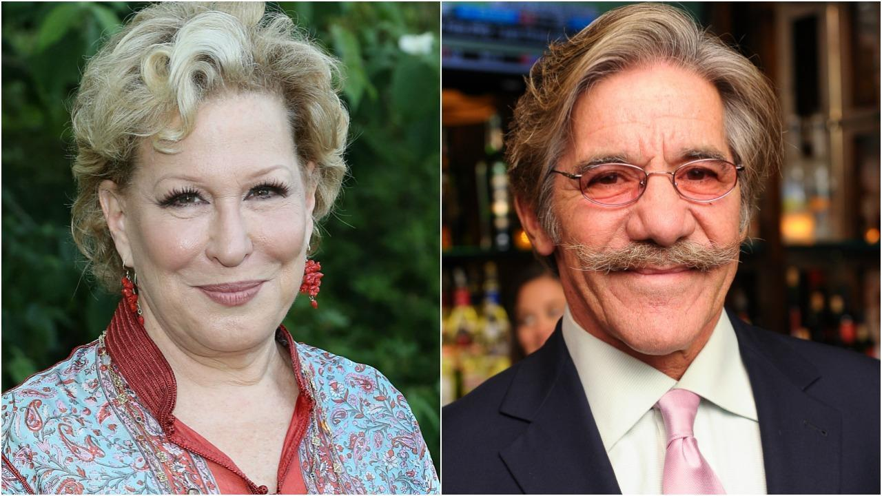 Bette Midler Calls Out Geraldo Rivera for Allegedly Groping Her in the Early '70s