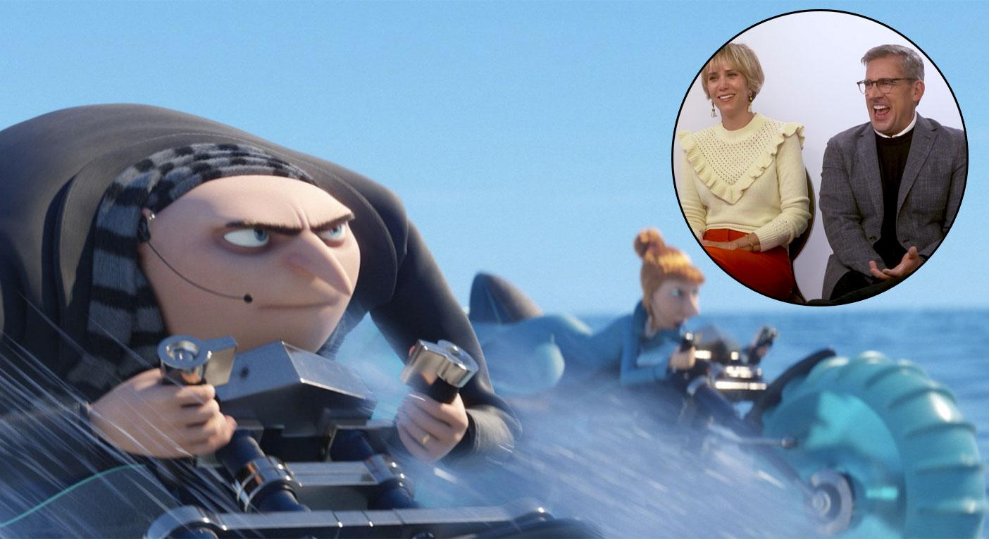 Despicable Me 3 Interview Steve Carell And Kristen Wiig Could Make These Films For Years
