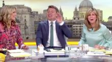 Kate Garraway has the 'Good Morning Britain' team in tears over live blunder