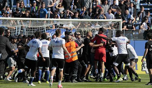 """Ligue 1: Skandal in Bastia: """"Wir gehen nicht in den Krieg"""""""