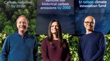 Presidente de Microsoft: se incentivará a los proveedores en la lucha climática